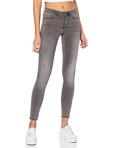 ONLY NOS Damen Skinny Onlroyal Reg SK Dnm Jeans BJ312 Noos, Grau (Dark Grey Denim), XL/L30