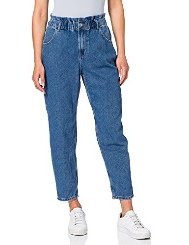 ONLY Female High Waist Jeans ONLOva Life Carrot L30Medium Blue Denim
